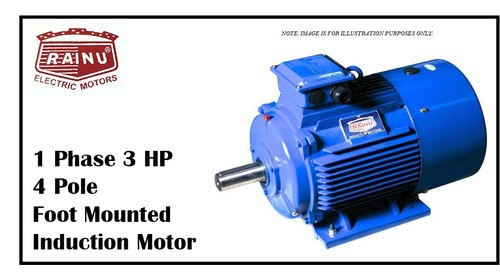 1 PHASE 3 HP CAST IRON MOTOR