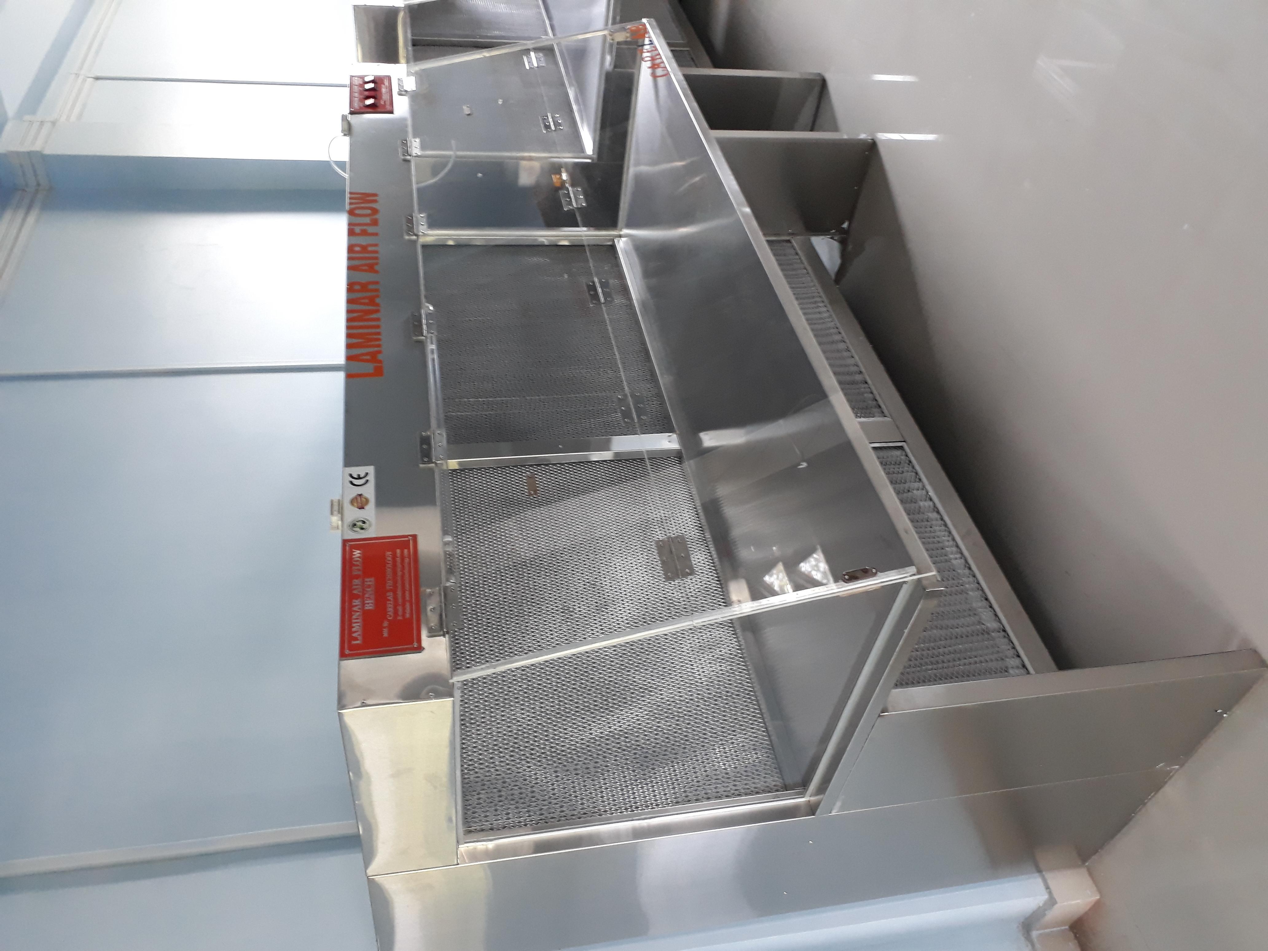 Stainless Steel Laminar Air Flow