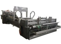 Corrugated Paperboard Automatic Folder Gluer Machine For Carton Box