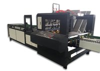 Automatic Carton Folding And Gluing Machine With Photoelectric Control Feeding