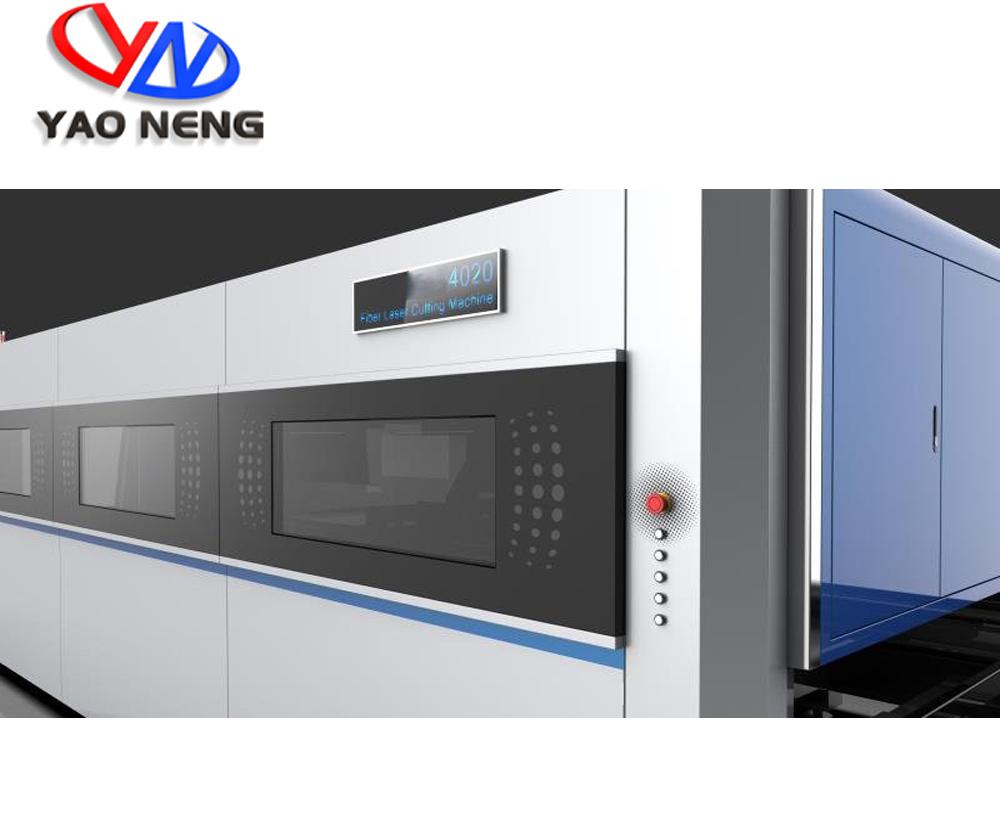 Fiber laser cutting machine exchange table