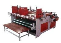 Corrugated Paperboard Pressure Folder Gluer Machine Semi Automatic Grade