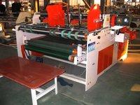 Semi - Auto Grade Pressure Folder Gluer Machine Carton Boxes Producing Usage