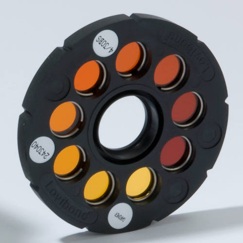 Coloured Disc Gardner Scale 10 to 18