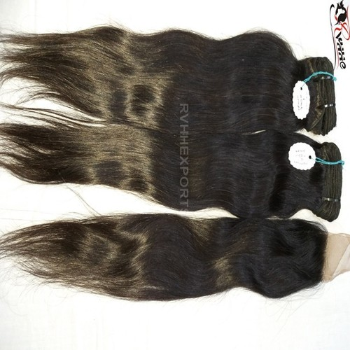 Virgin 3 Bundles Straight Human Hair Extension