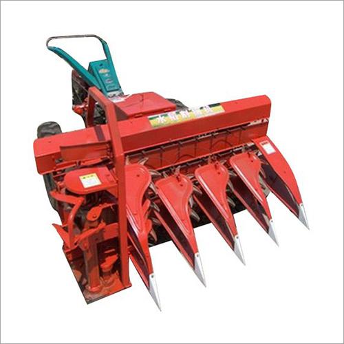 Tractor Running Rice Straw Reaper
