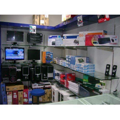 Electronic Display Rack