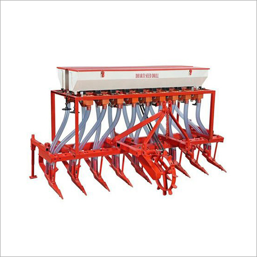 Automatic Seed Cum Fertilizer Drill Machine