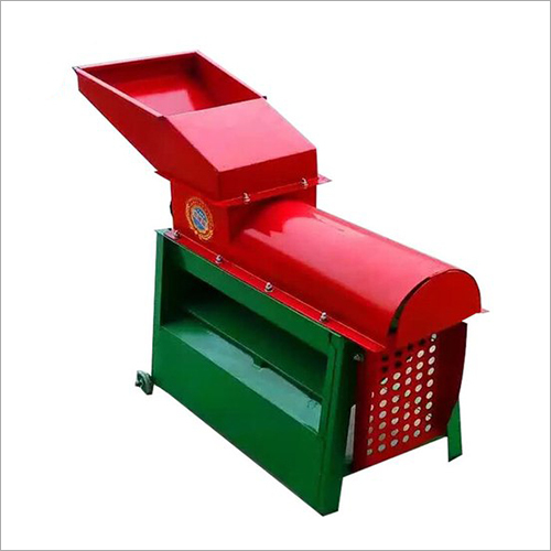 Corn Skin Peeler And Thresher Machine