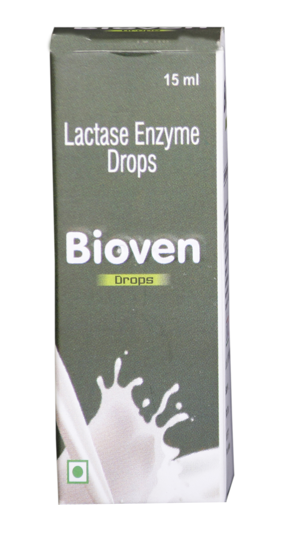 Lactase enzyme drop