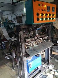 Hydraulic Automatic Dona Five die making machine