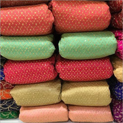 Malbari Embroidery Fabric