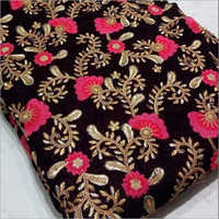 9100 Velvet Embroidery Fabric