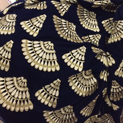 Velvet Embroidery Fabric