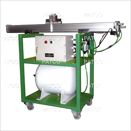 Pneumatic On Card Wire Grinder Machine