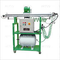 On Card Flat Grinder Machine