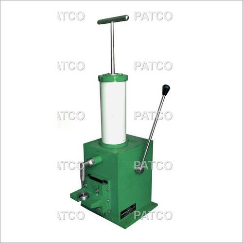 Manual Top Roller Greasing Machine