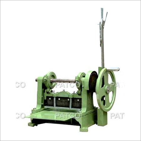 Manual Sample Cutting Machine