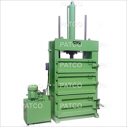 Hydraulically Operated Bale Press Machine