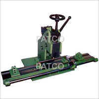 Manual Fluted Roller Truing Machine