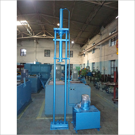 Hydraulic Roll Press Machine