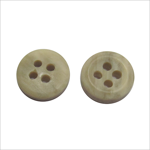 Wooden Plain Button