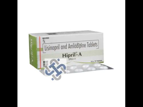 Hipril A Amlodipine 5mg Lisinopril 5mg Tablet