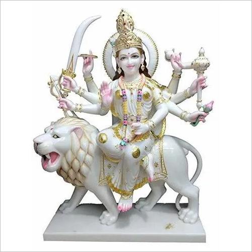 Marble Moorti Maa Durga