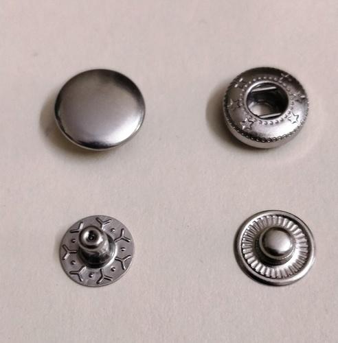 Gunmetal Vt5 Spring Snap Button