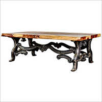 Cast Iron Industrial  Table