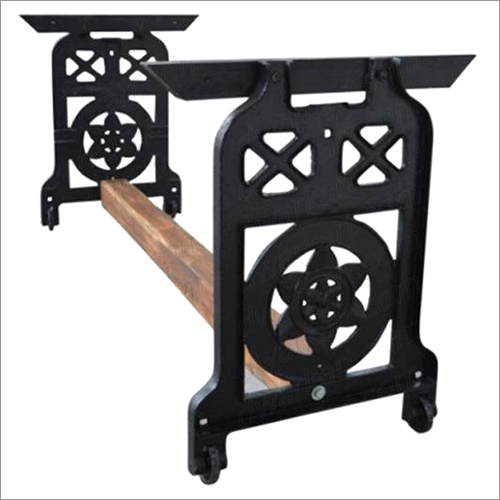 Cast Iron Unique Industrial Table