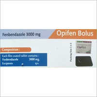 3000 Mg Fenbendazole Tablet