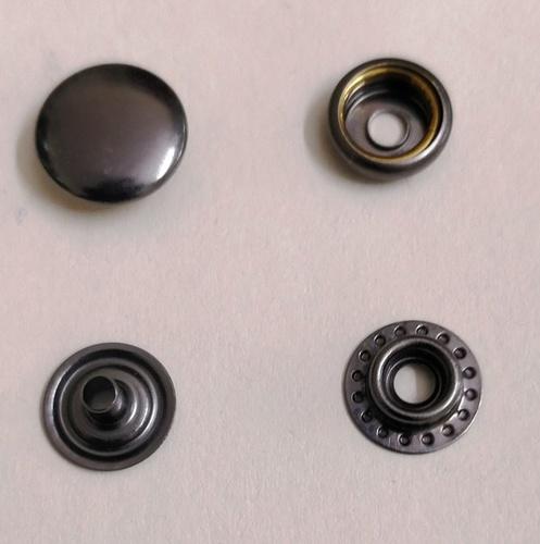 5X7 Round Cap Metal Snap Button
