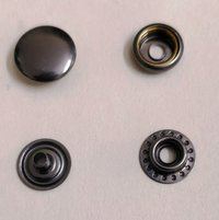 5X7 Round Cap Metal Snap Button