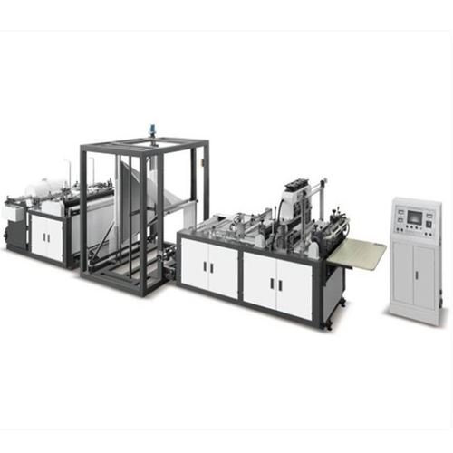 Rope Opening Squeezing Suction Machine