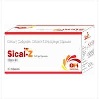 Calcium Carbonate Calcitriol And Zinc Softgel Capsule