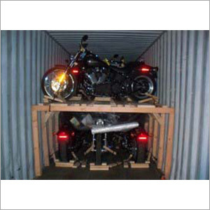 Container Motorcycle Loading Services