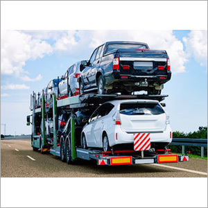 Cars Carrier Road Poland Truck