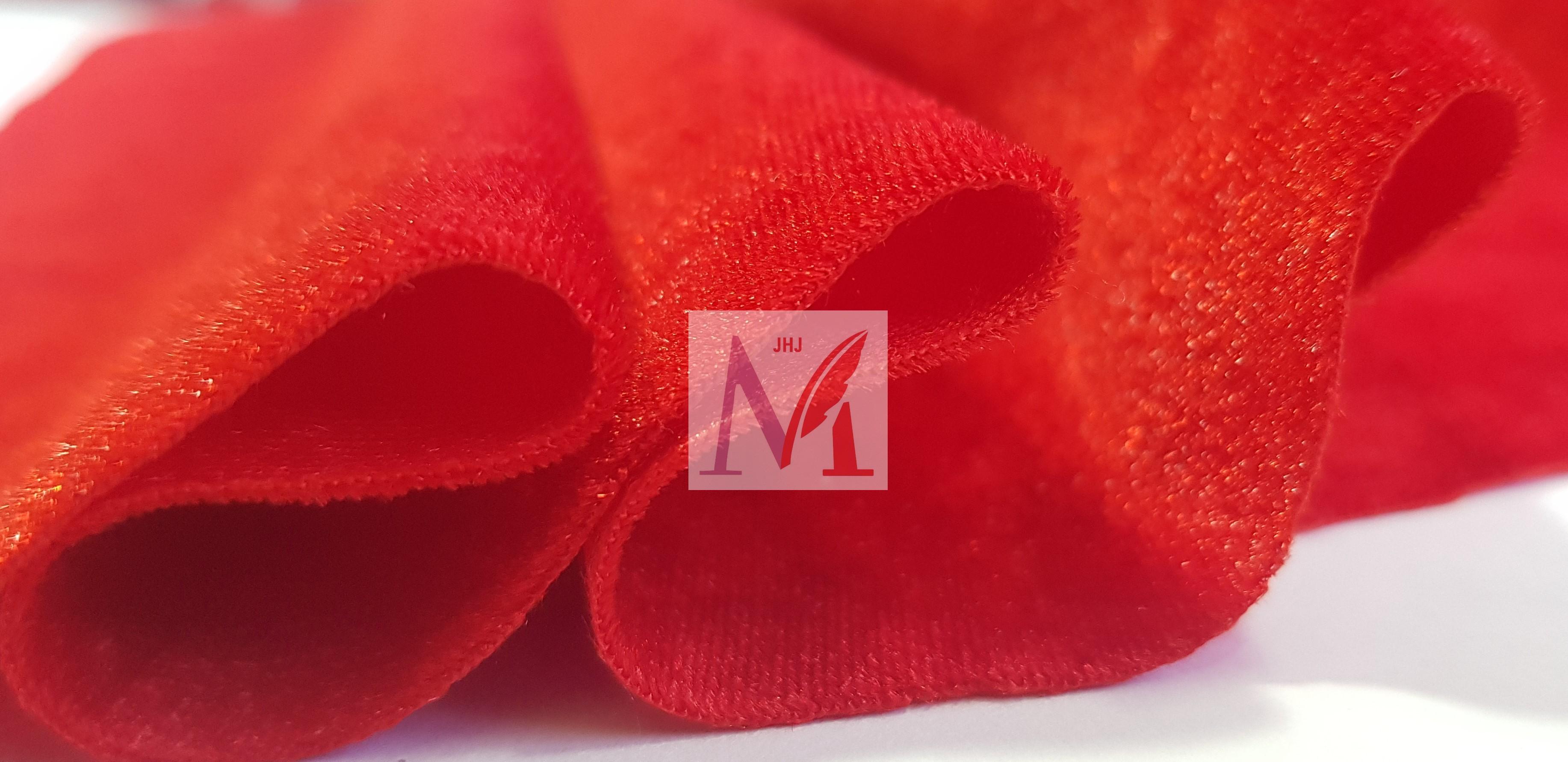 Polyester Velvet Fabric