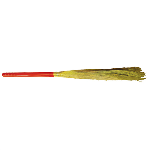 Long White Grass Broom