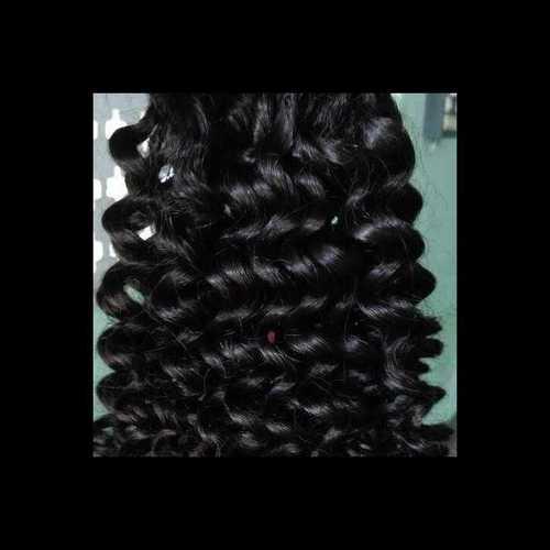 Kinky curly weft hair