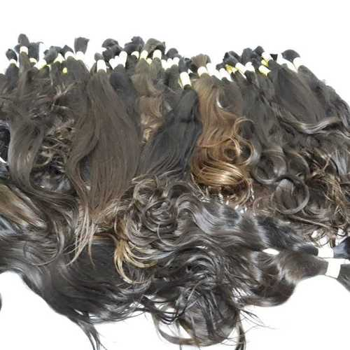 Shiny bulk hair
