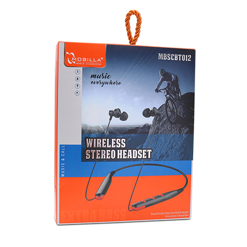 WIRELESS STEREO HEADSET- NECKBAND (012)
