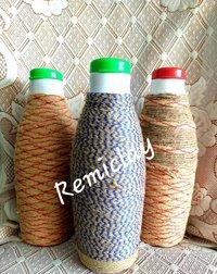 Eco Friendly Clay Jute Water Bottle