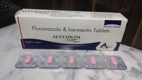 Fluconazole 150 mg +Ivermectin 6 mg Tablets