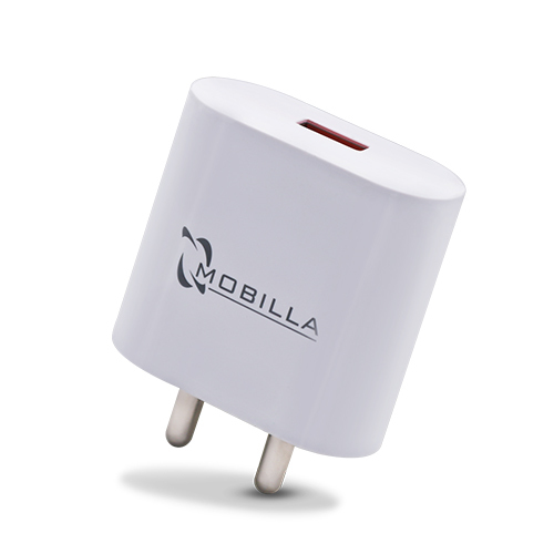 SINGLE USB TRAVEL CHARGER (2A) QC