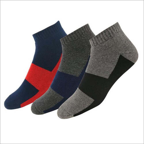 Men Designer Ankle Socks