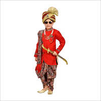 Kids Dhoti Kurta Set