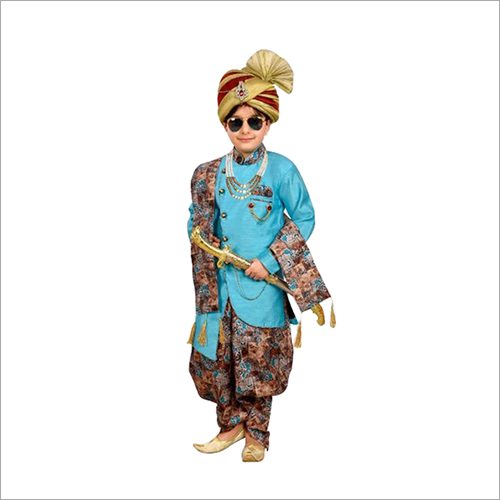 Kids Ethnic Dhoti Kurta Set