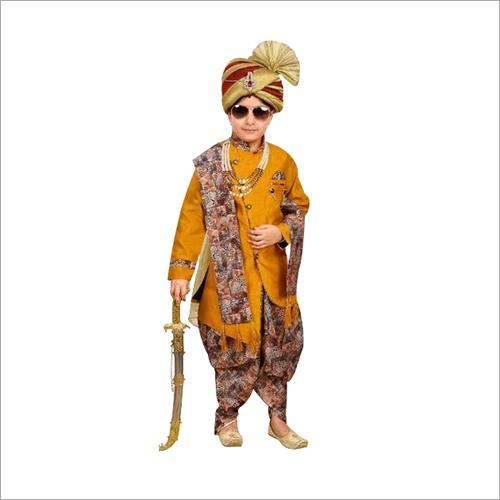 Kids Designer Dhoti Kurta Set